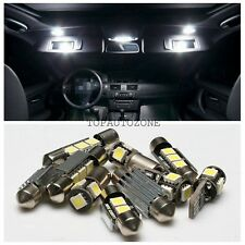 10 x Canbus LED Light Bulbs Interior Package Kit For 2003-2009 VW MK5 GOLF GTI