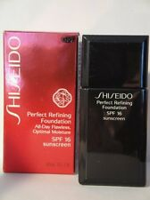 SHISEIDO PERFECT REFINING FOUNDATION  SPF15 NATURAL FAIR BUFF BF40 1OZ/30ML NIB