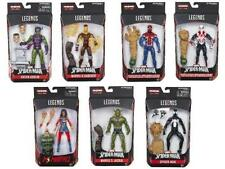 "Amazing Spider-Man 6"" BAF SANDMAN MARVEL LEGENDS SERIES set of 8 wave IN HAND 7"