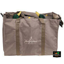 TANGLEFREE SLOTTED DUCK DECOY BAG 6 SLOT FULL BODY OR FLOATERS FLOATING DECOYS