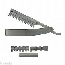 THINNING TRIMMING STYLING SHAPING SHAPER FEATHER STYLE SALON RAZOR WITH BLADE