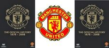 Manchester United - The Official History Revised Edition 1878-2008 (2 DVD set)