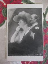 """CPA tableau Salon peinture 1906 Beaury-Saurel """" aux variétés"""" spectacle"""