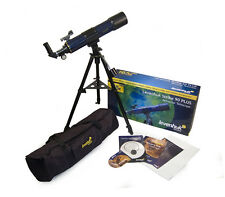 Used Levenhuk Strike 90 PLUS Telescope - 90mm Refractor & Kit of Accessories