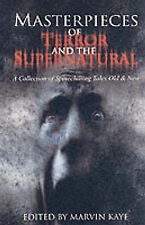 Masterpieces of Terror and the Supernatural,GOOD Book