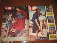 RIVISTA TEMPO 1952/31=COLETTE LAURENT=ADRIANA TOMICH=UBALDO ROSSETTI=
