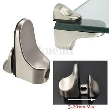 Adjustable Metal Shelf Holder Bracket Mount Support For Glass Or Wood Shelves