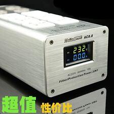 Maginc sound AC8.8 3000W 15A Power Purifier Filter AC Power Socket LED screen