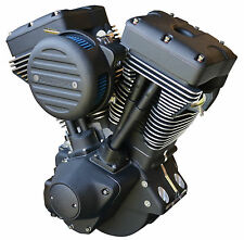 "Ultima® ""Black Out"" 127 c.i. El Bruto® Motor for 1984-99 Harley & Custom Models"
