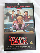 RARE Retro Vintage Original 1992 Dolly Parton Straight Talk VHS PAL Video