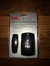 Nexxtech wireless optical notebook mouse NWOMMI