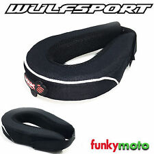 WULFSPORT ADULTS NECK COLLAR ROLL SUPPORT MOTOCROSS OFFROAD ONE SIZE BRACE
