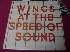 Wings: At the speed of sound    LP  A6U/B5U  EX