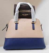 NWT Kate Spade Cedar Street Maise Leather Bag Drifting Sand Ocean Blue  New $298