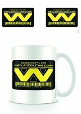 ALIEN WEYLAND YUTANI CORP LOGO MUG NEW GIFT BOXED 100 % OFFICIAL MERCHANDISE