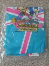 Mario and sonic london olympic games 2012 t shirt gaming memorabilia rare wii