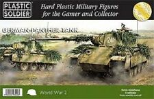 WW2V15012 15MM GERMAN PANTHER TANK - PLASTIC SOLDIER COMPANY WW2
