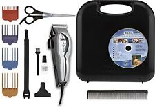 Wahl Pet Pro Grooming Kit 13-Pc Set Thick Hair Dog Clipper Trim Shave Cut Cat