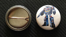 "Soundwave - Tranformers - 1"" Pinback Button Pin - Decepticon - Buy 2 Get 1 Free"