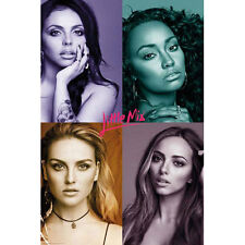 Little Mix - Quad POSTER 61x91cm NEW * girl band Perrie Jesy Leigh-Anne Jade