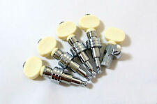 Good Quality banjo nickel machine heads Ivory color button 5ps 328N-BI
