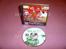 PS1 _ Pet In TV _ CD guter Zustand _ Über 1000 weitere Spiele im SHOP