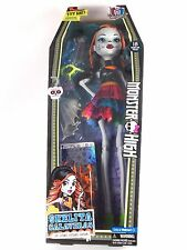 "New Monster High 28"" Ghoul Skelita Calaveras Beast Freaky Friend Doll Skeleton"