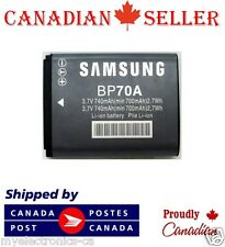 New BP70A 3.7V 740mAh Camera Battery for Samsung SL50 ES65 ES70 PL80 PL100 AQ100