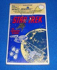 Vintage 1976 Star Trek Space Jewelry MOC