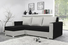 BRAND NEW SOFA BED MOJITO  LOW PRICE!!  STORAGE  BLACK AND WHITE  FREE DELIVERY