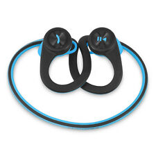 Plantronics BackBeat Fit Bluetooth Wireless Headphones Headset + Pouch Case Blue