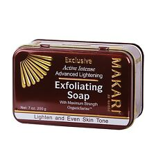 Makari Exclusive Exfoliating Soaps/ Active Intense Advanced Lightening