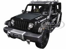 JEEP RESCUE CONCEPT POLICE SWAT VERSION 1/18 DIECAST CAR MODEL BY MAISTO 36211