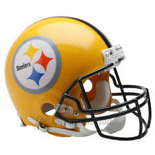 PITTSBURGH STEELERS 75TH RIDDELL NFL THROWBACK AUTHENTIC FOOTBALL HELMET
