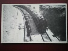 POSTCARD WEST COUNTRY CLASS LOCO WITH FRUIT TRAIN AT DOUBLE BRIDGES YEOVIL JUNCT