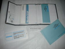 MAZDA 323 323F BA  HANDBOOK AND WALLET ETC 1996