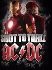 AC/DC IRONMAN 2 SHOOT TO THRILL 2010 LARGE T SHIRT OUT OF PRINT ROCK METAL