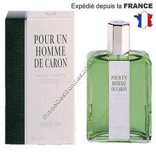 Parfum Pour un Homme de Caron Eau de toilette 125 ml Neuf Sous Blister !!!