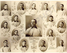 1903 PITTSBURGH PIRATES NL CHAMPS WORLD SERIES 8X10 TEAM PHOTO PICTURE