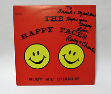 RUBY AND CHARLEY Happy Faces - Central Sound Records CS-CF-102 Stereo Vinyl