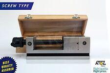 "3"" LEAD SCREW TYPE PRECISION MACHINE GRINDING MACHINE VICE/VISE HARDENED OEM"
