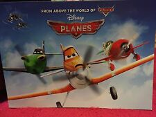 Disney Store Authentic Planes Set of 4 Lithographs NEW In Folder