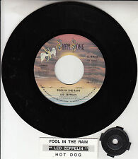 "LED ZEPPELIN  Fool In The Rain & Hot Dog 7"" 45 rpm vinyl record NEW RARE!"