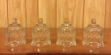 4 Home Interiors Homco Reflections Votive Candle Sconce Cups