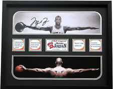 New Michael Jordan Signed Chicago Bulls Limited Edition Memorabilia Framed