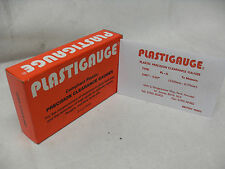 "ENGINE BUILDERS PLASTIGAUGE  (Precision Clearance Gauges) RED BOX 0.001""- 0.007"""