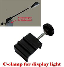 C-clamp Adapter Converter for  Pop Up Tension Booth Display Light LED/Halogen DX