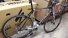 Specialized crux elite road Cyclocross bicycle Bike New Blk/WHT 58cm XL