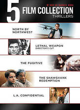 5 Film Collection Thrillers (2013) - Fugitive Shawshank Leathal Weapon NEW