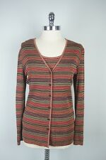 Missoni Twin Cardigan Sweater Set 12 Large